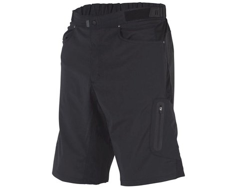 ZOIC Clothing Ether 9 Short (Black) (w/ Liner) (XL)