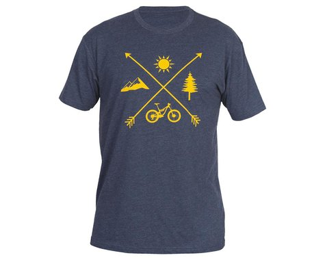 ZOIC Clothing Elements Tee (Navy) (L)