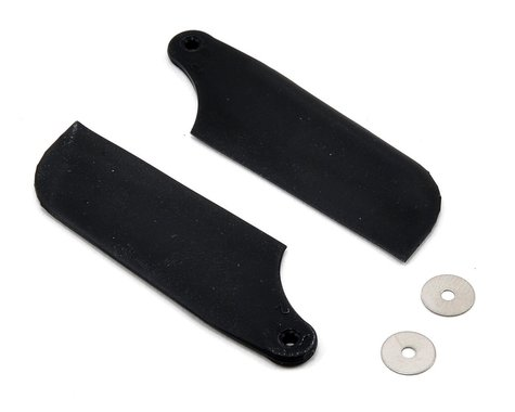 Blade Tail Rotor Blade Set (Black) (B450 X)