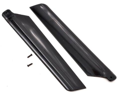 Blade Main Rotor Blade Set w/Hardware (Black) (mSR X)
