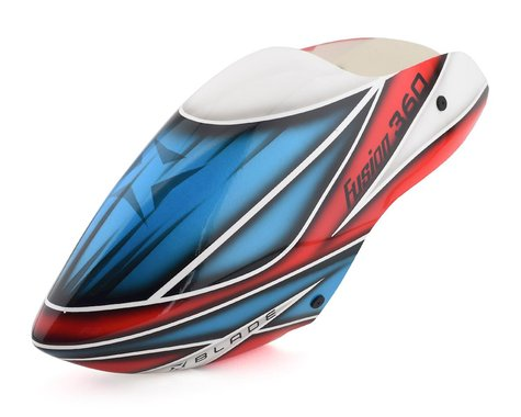Blade Fusion 360 Canopy (Red, White & Blue)