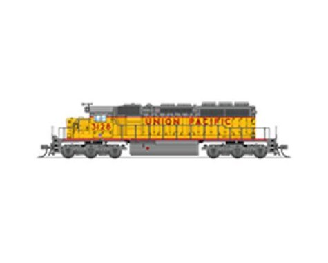 N SD40-2 w DCC & Paragon 3 UP #3128