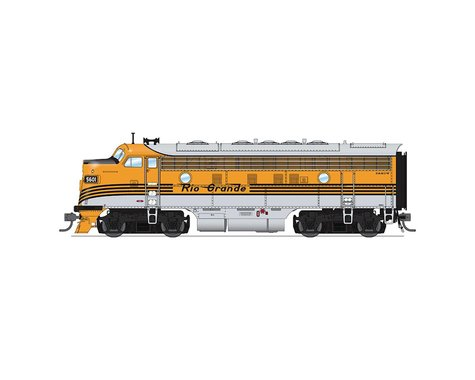 Broadway HO F3 A B Phase I w DCC & Paragon3 D&RGW#5601 5602