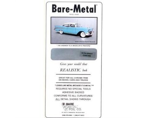 Bare Metal Foil Co 004 6x11 Thin Sheet Matte Aluminum Foil