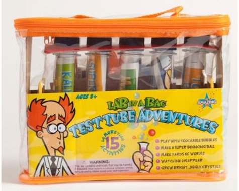 Be Amazing! Lab In A Bag Test Tube Adventures