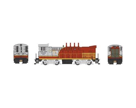 HO DS 4-4-1000 Copper Range Railroad #100