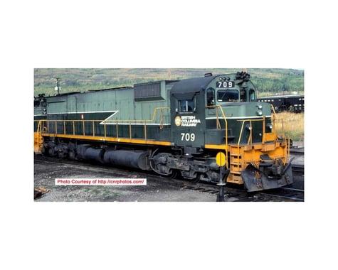 Bowser HO M630 w DCC & Sound BCR #709