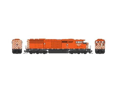Bowser HO SD40-2F w DCC & Sound CM&Q Red #9024