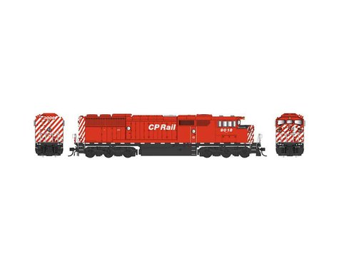 Bowser HO SD40-2F w DCC & Sound CPR Sill Dashes #9018