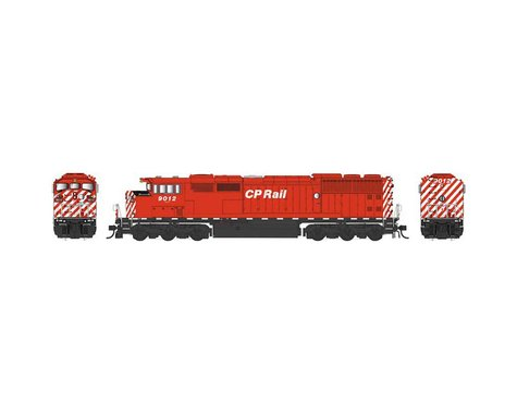 Bowser HO SD40-2F w DCC & Sound CPR Sill Dashes #9012