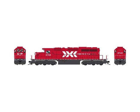 Bowser HO SD40 w DCC & Sound CPR Expressway #5745