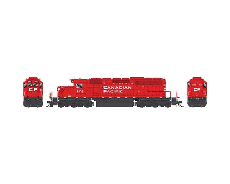 Bowser HO SD40 w DCC & SND CPR Block Let SD40-3 #5103