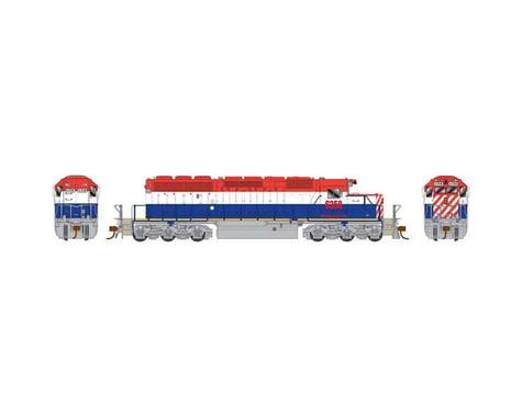 Bowser HO SD40-2, W&LE/ex/BCR #6358