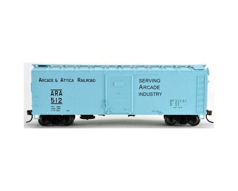 HO 40' Box Arcade & Attica RR #517