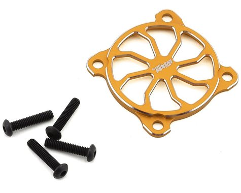 Team Brood Aluminum 30mm Fan Cover (Yellow)