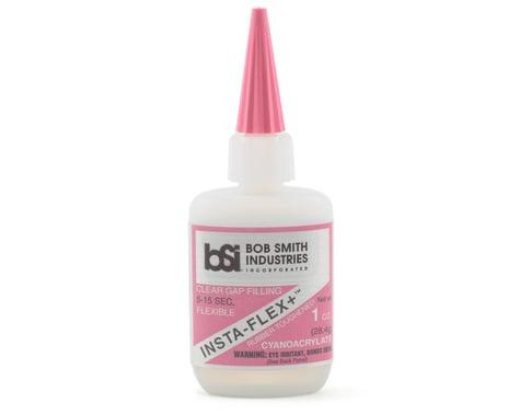Bob Smith Industries INSTA-FLEX+ Clear Rubber Toughened CA (1oz)