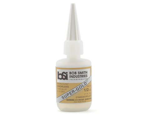 Bob Smith Industries SUPER-GOLD Thin Odorless Foam Safe (1/2oz)