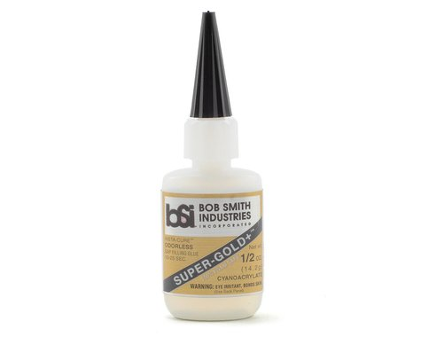 Bob Smith Industries SUPER-GOLD+ Gap-Filling Odorless Foam Safe (1/2oz)
