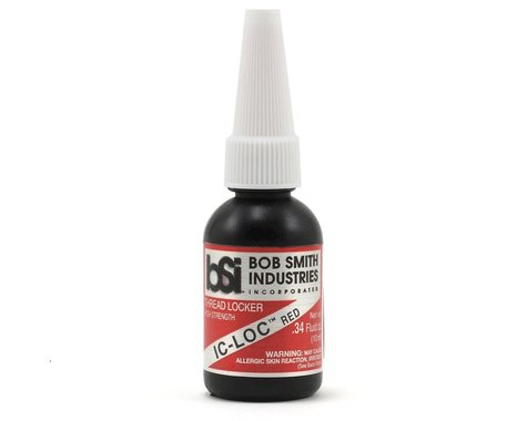 Bob Smith Industries IC-LOC Red Permanent Thread Lock (1/3oz)