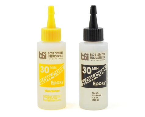 Bob Smith Industries SLOW-CURE 30 Minute Epoxy (4 1/2oz)