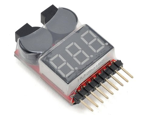 DYS Digital LiPo Voltage Checker w/Warning Alarm