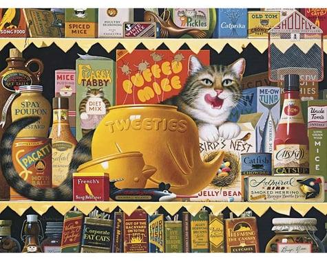 Buffalo Games 17072 Charles Wysocki Cats Ethel Gourment 750pcs
