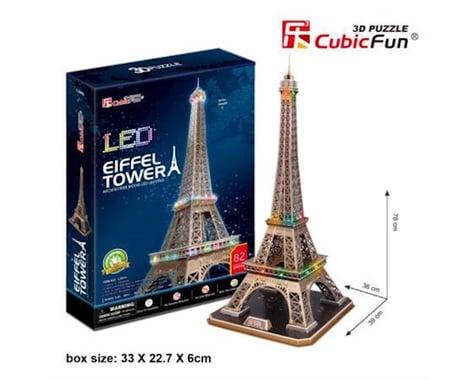 Cubic Fun Eiffel Tower W/ Led 3D Puzzle