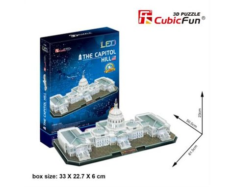 Cubic Fun Capitol, 150 pieces
