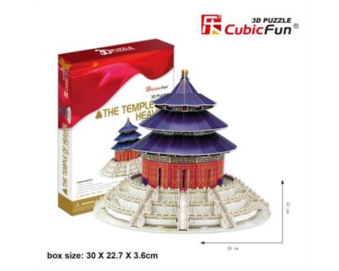 "Cubic Fun CubicFun 3D Puzzle ""The Temple of Heaven - Beijing"""