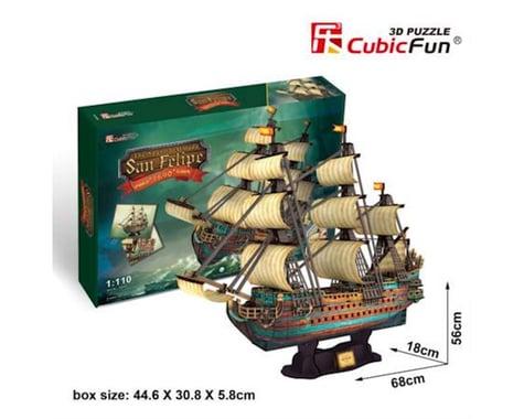 Cubic Fun Spanish Armada San Felipe 3D Puz