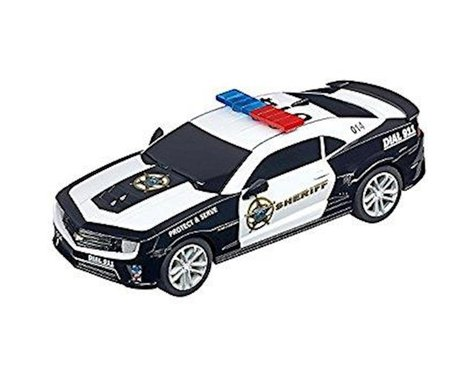 "Carrera 1/43 Carrera GO!!! Chevrolet Camaro ""Sheriff"" Slot Car"