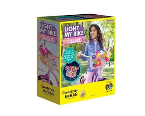 Creativity for Kids Light My Bike Basket