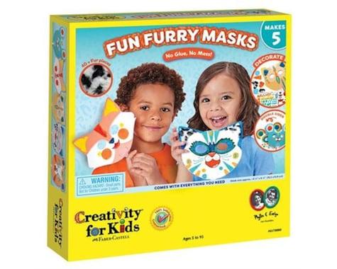 Creativity For Kids 6170000 Fun Furry Masks - Craft 5 Animal Masks for Kids