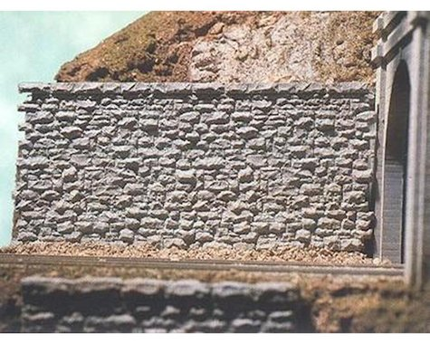 Chooch HO/O Random Medium Stone Retaining Wall