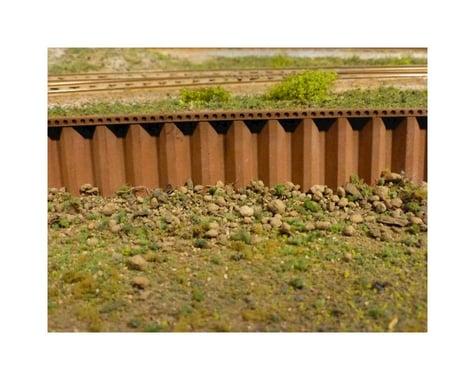 Chooch HO/O Steel Sea Wall, Large