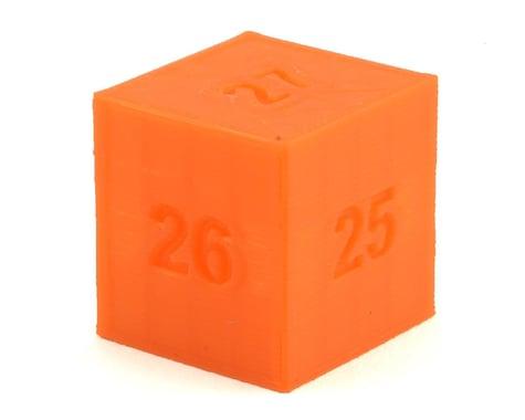 Cheater Racing Ride Height Block Gauge (Orange) (25-27mm)