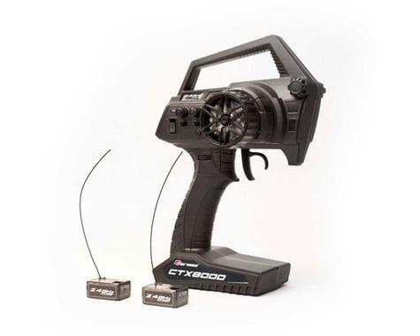 Carisma CTX8000 2.4GHz FHSS 2-Channel Pistol Radio w/ 2 Receivers