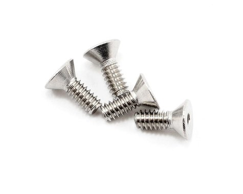 "CRC 4-40x5/16"" Stainless Steel Flat Head Screw (4)"
