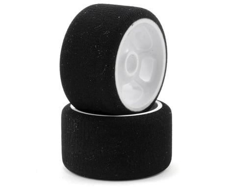 """CRC """"Pro-Cut"""" 1/12 Front Tires (2) (White) (Black)"""