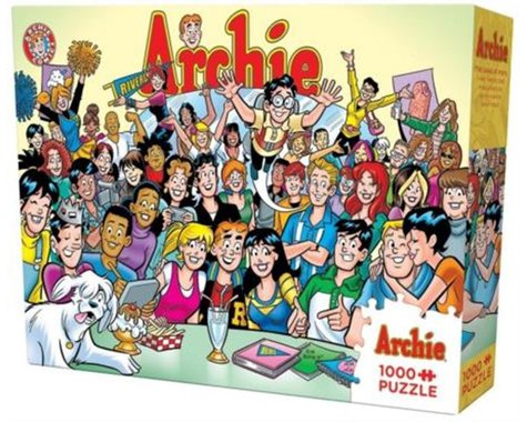 Cobble Hill Puzzles COBBLE HILL the Gang At Pop's Jigsaw Puzzle (1000 Piece)