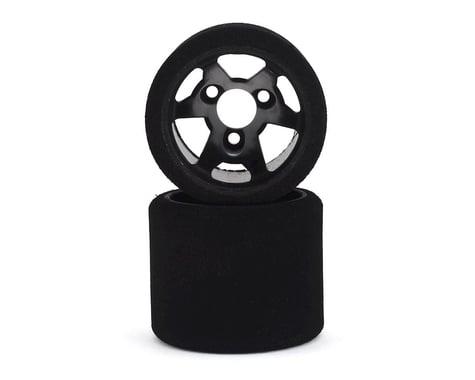 Contact 1/12 Foam Rear Tires (Black) (2) (30 Shore)