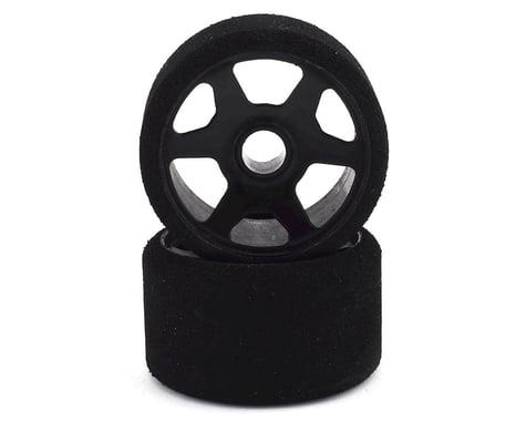 Contact 1/12 Foam Front Tires (Black) (2) (32 Shore)