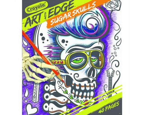 Crayola Llc Crayola Art with Edge, Sugar Skulls Coloring Book