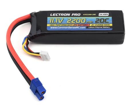 Common Sense RC Lectron Pro 3S 20C LiPo Battery w/EC3 (11.1V/2200mAh)