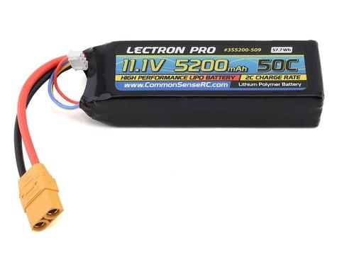 Common Sense RC Lectron Pro 3S 50C LiPo Battery w/XT90 (11.1V/5200mAh)