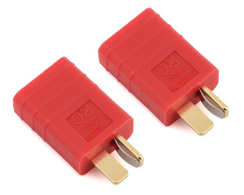 Common Sense RC One Piece Adapter Plug (T-Style Male to Traxxas Female) (2)