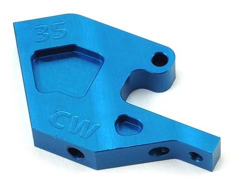 Custom Works 35 Degree Aluminum Front Suspension Mount