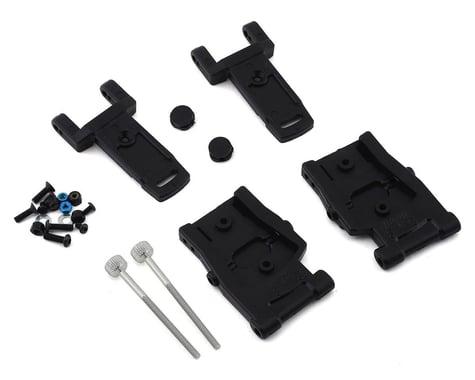 Custom Works RC10B5/RC10B6 Dirt Oval Adjustable Toe Rear A-Arm Kit
