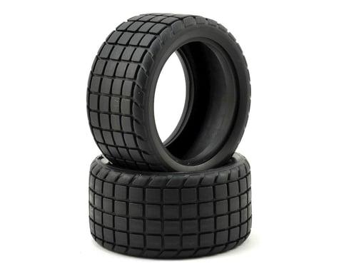 Custom Works Sticker 2 Dirt Oval Rear Tires (2) (Standard)