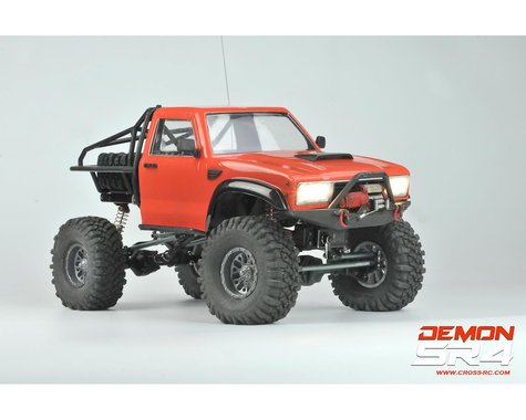 Cross RC Demon SR4A 1/10 4x4 Crawler Kit w/Lexan Body